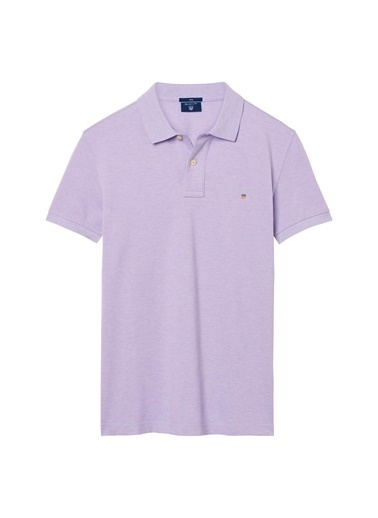 Gant Polo Yaka Tişört Mor